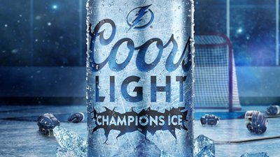 Coors courts hockey fans by brewing beer with Stanley Cup ice