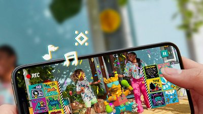 Lego makes music-video app for kids too young for TikTok