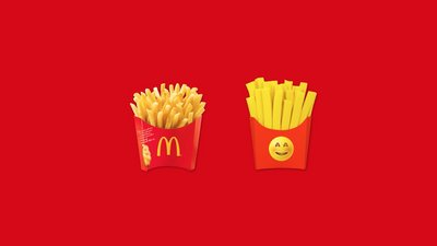 McDonald's Costa Rica claims fries emoji for its own