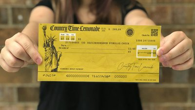 Country Time bails out lemonade stands with stimulus checks