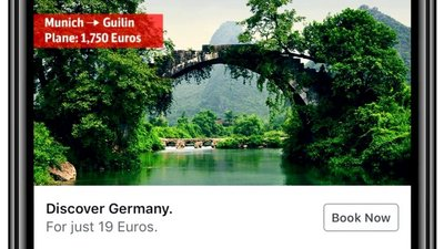 The German Rail campaign called 'the future of advertising'