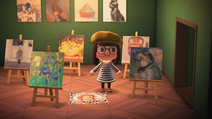 Getty Museum loans iconic artworks to Animal Crossing