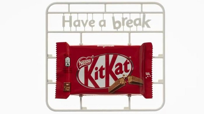 Kit Kat's model ad campaign lands with Airfix fans