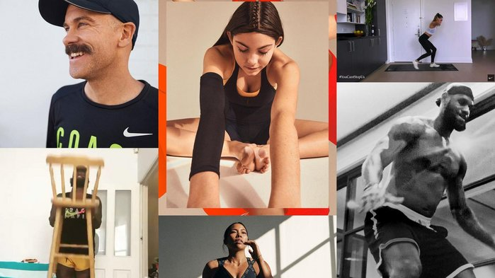 Nike harnesses star athletes for lockdown home fitness challenge