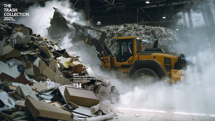 Ikea heroes junked furniture in sustainability campaign