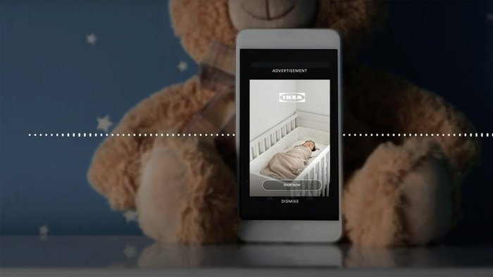 Ikea protects nap time with soporific Spotify ads