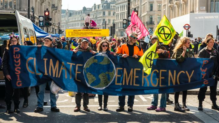Extinction Rebellion on activism, optimism, emergencies and urgency