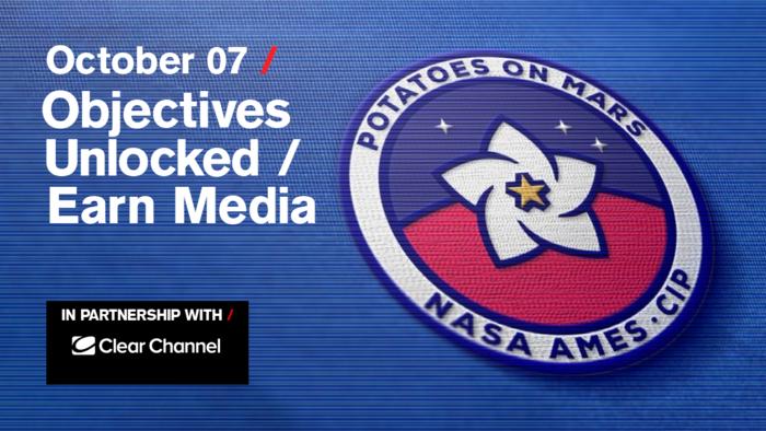 Objectives Unlocked / Earn Media: Free live stream