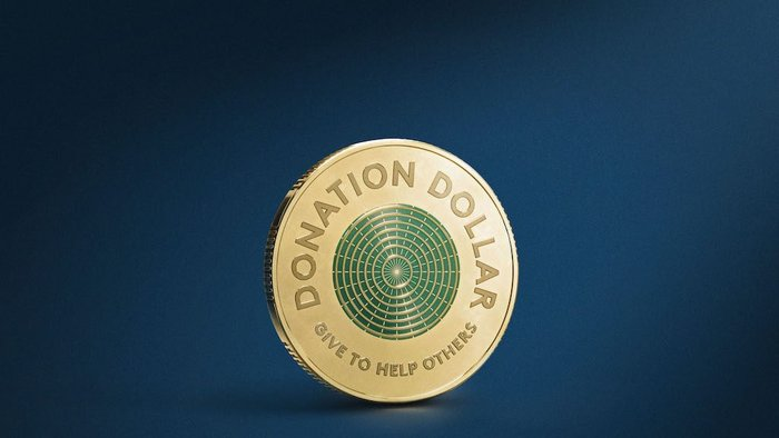 Australia mints 'Donation Dollar' to boost pandemic giving